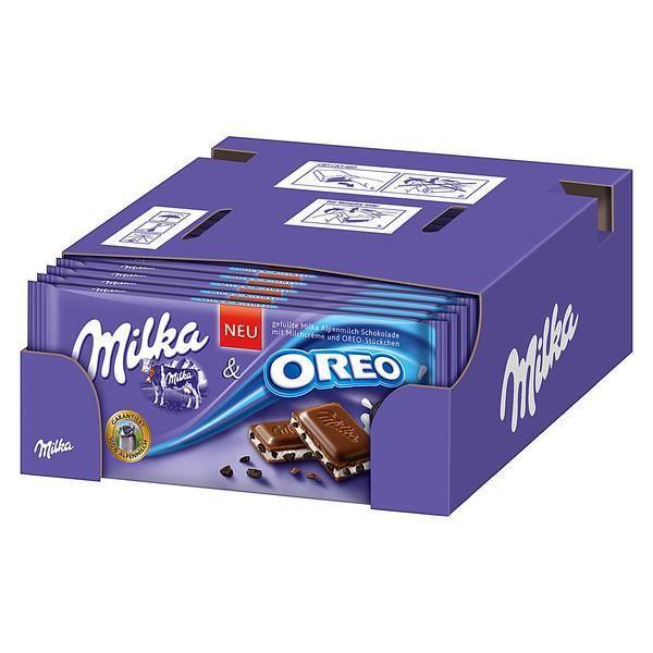 Milka & Oreo Chocolat 20 x 100g