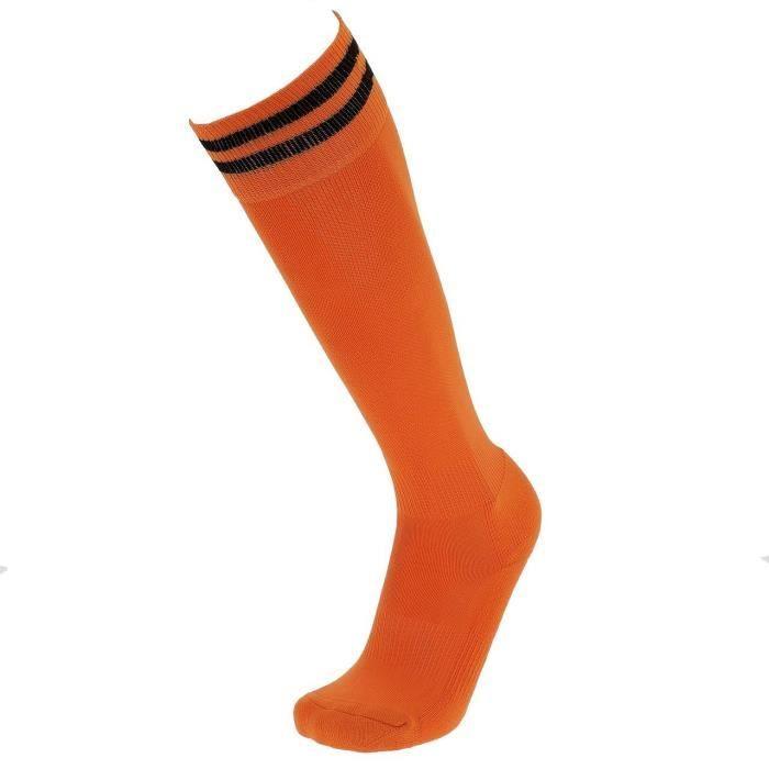 Chaussettes de football Te113 orange/noir - Tremblay