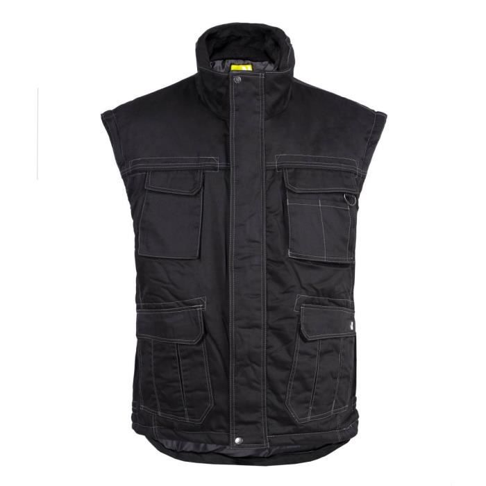 GILET PIATTEC NOIR - NORTH WAYS