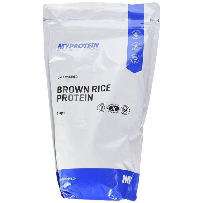 My Protein Riz Brun Sac de Protéine 1 kg: Hygiène et Soins du corps
