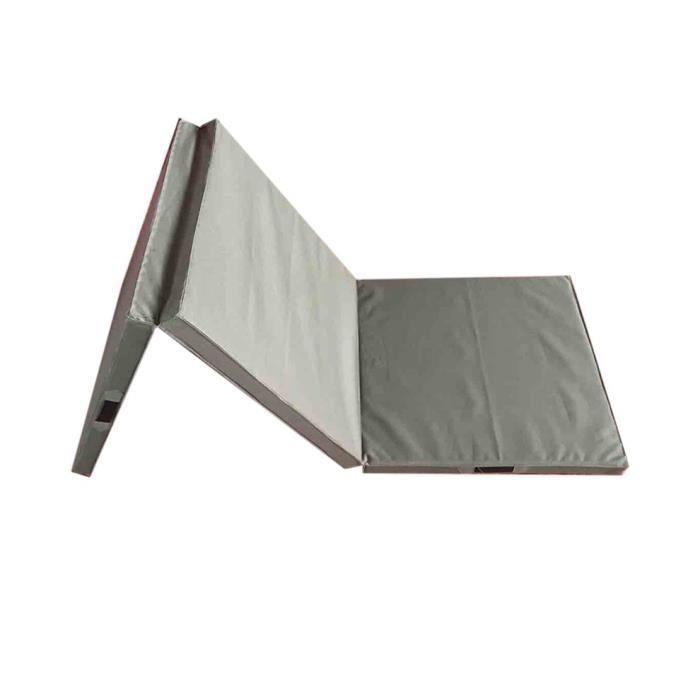 Tapis de jeu de sol d'exercice pliable confortable Tapis de yoga Tapis de pratique Accueil Gymnastique intérieure Fournitures de for