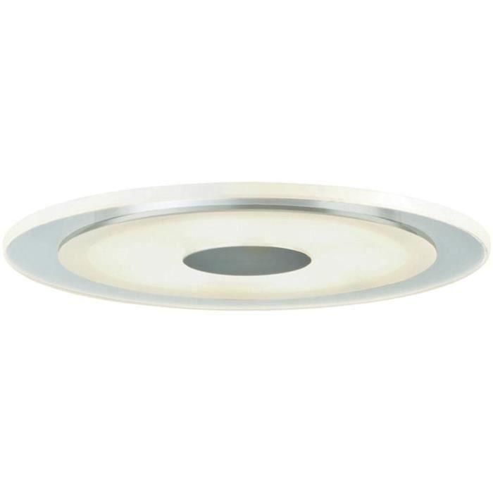 Paulmann 92543 kit d'encastrés Premium Line Whirl 6W LED Alu, Satin, kit de 3