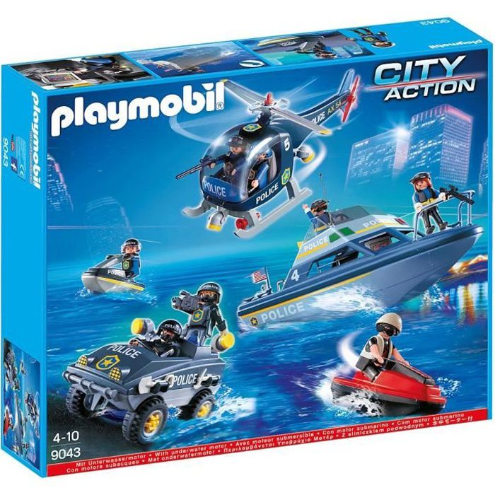 Playmobil - Set de Police - 9043