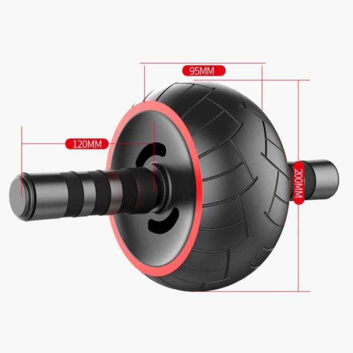 1 ensemble de rouleau d'exercice abdominal anti-dérapant cruncher équipement d'entraînement pour APPAREIL ABDO - PLANCHE ABDO