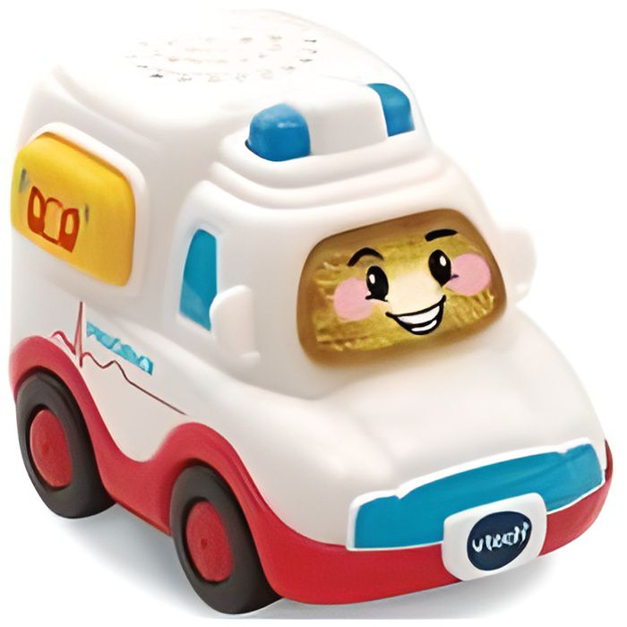 Vehicule Prudence SOS Ambulance - Tut Tut Bolides surprise - Vtech