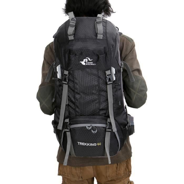HG37249-Ywei 60L Outdoor Camping Travel Rucksack Backpack Climbing Hiking Bag Product DescrRw772