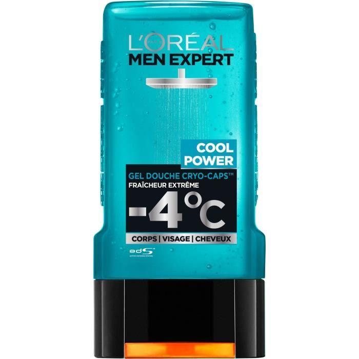 L'Oréal Men Expert Cool Power Fraicheur Extrême Gel Douche Pour Homme - 300 ml