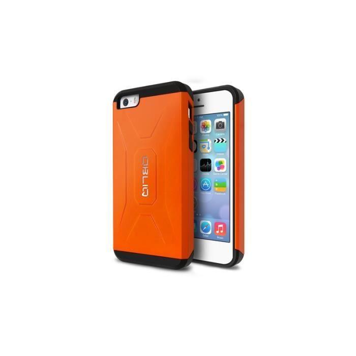 Coque Xtreme Pro de marque Obliq ® pour iPhone 5 / 5S Orange