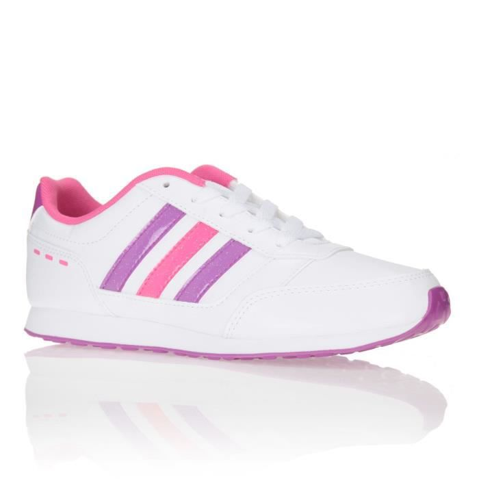 chaussure adidas enfant rose