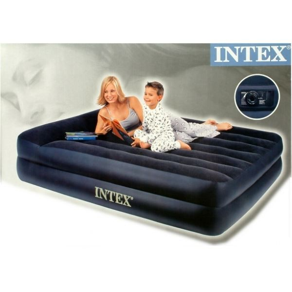 lit gonflable 2 places gonfleur 220v int gr achat vente lit gonflable airbed cdiscount. Black Bedroom Furniture Sets. Home Design Ideas