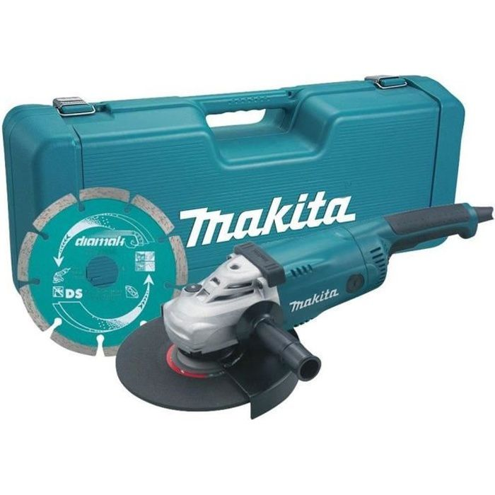 makita meuleuse 2200 w 230 mm disque diamant achat. Black Bedroom Furniture Sets. Home Design Ideas