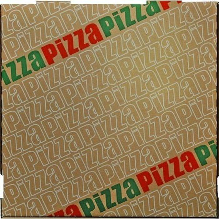 BOITES DE CONSERVATION Mallard Ferriere - BOITE A PIZZA DE 26 P/100