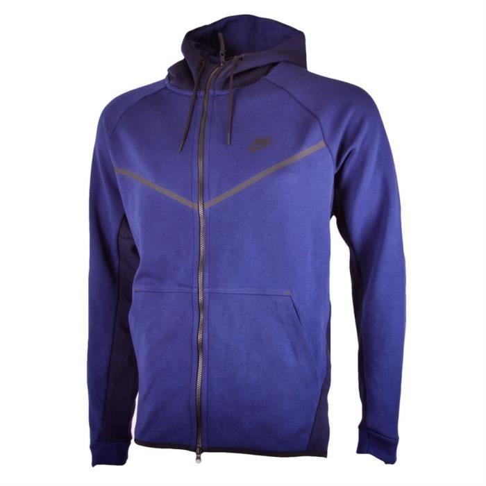 Veste Nike Tech Fleece Windrunner 836422 429 Bleu Achat