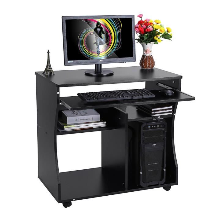 table pour l 39 ordinateur bureau informatique meuble de bureau achat vente meuble informatique. Black Bedroom Furniture Sets. Home Design Ideas