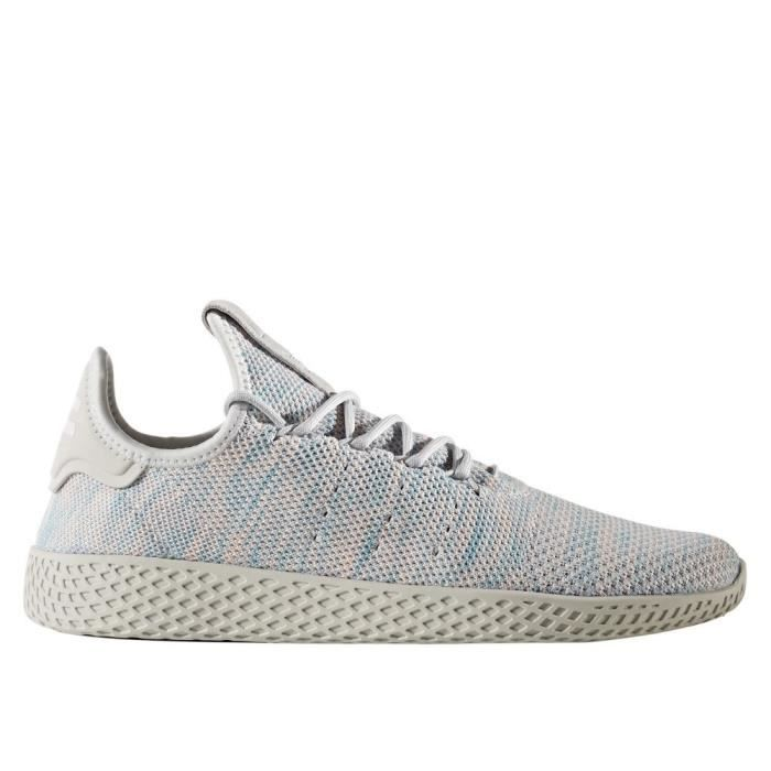 Adidas Chaussures Hu Blue Primeknit Pharrell Williams X Tennis Light rQhdCst