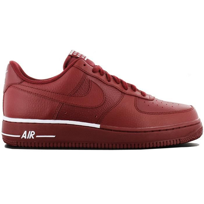 quality design b58a3 2daf6 Nike Air Force 1 07 AA4083-600 Chaussures Homme Sneaker Baskets Rouge