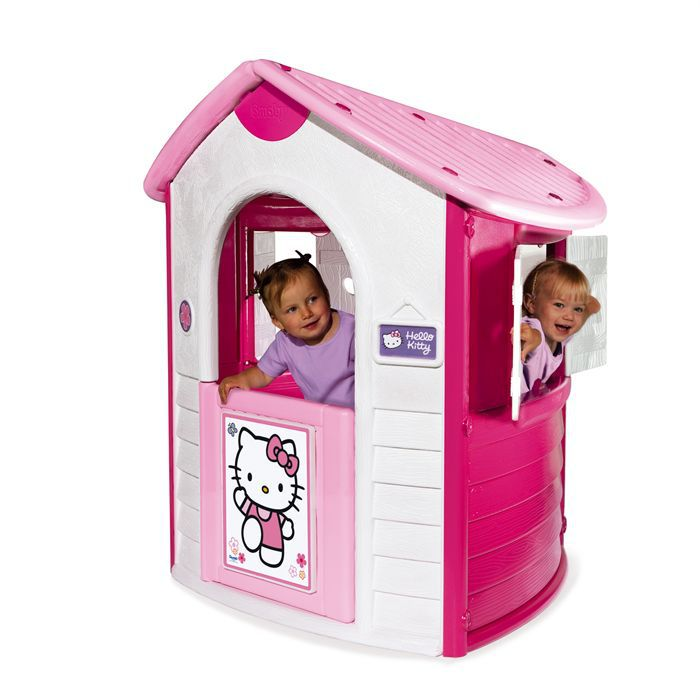 smoby cottage hello kitty achat vente maisonnette ext rieure cdiscount. Black Bedroom Furniture Sets. Home Design Ideas