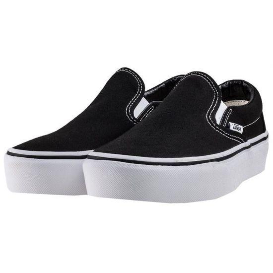 vans femme chaussure platform
