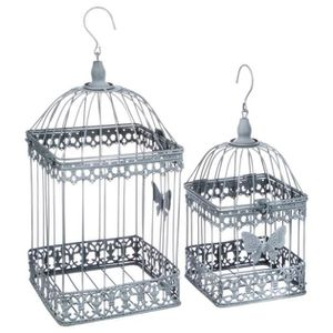 cage a oiseau decorative achat vente cage a oiseau decorative pas cher cdiscount. Black Bedroom Furniture Sets. Home Design Ideas