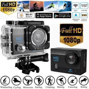 CAMÉRA SPORT Full HD 1080P Caméra de sport étanche magnétoscope