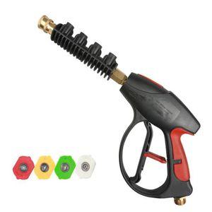 Nouveau Lance Nettoyeur haute pression 13 cv essence avec fermeture rapide 3//8 pouces de detec