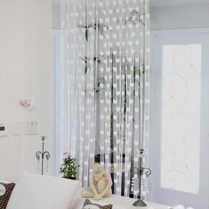 Rideau//DECO RIDEAU conacord on transparent longueur 200 cm