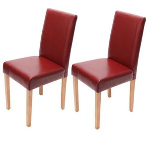 Chaises salle a manger rouge achat vente chaises salle for Chaise design rouge salle a manger