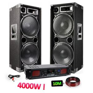 PACK SONO Pack sonorisation 2 enceintes 2x15
