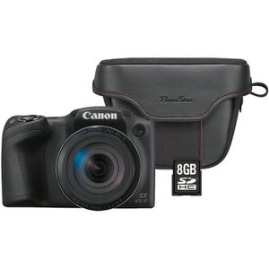 APPAREIL PHOTO BRIDGE CANON SX431 Pack Powershot + Sacoche + Carte 8Go -