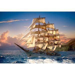 PUZZLE Puzzle 1500 pièces Sailing At Sunset