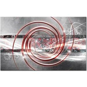 TABLEAU - TOILE Tableau Déco Abstrait Spirales - Abstrait  - 80x50