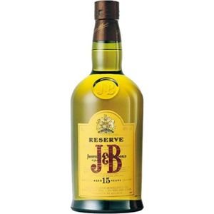 WHISKY BOURBON SCOTCH J&B 15 ans 50 cl whisky