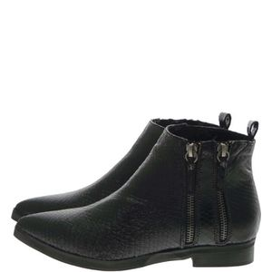 BOTTINE Francesco Milano Ankle Boots Femme Black