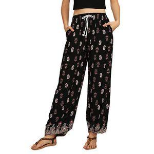 RD style Empiècement Extensible Pantalon Noir Neuf avec étiquettes taille S Neuf avec étiquettes