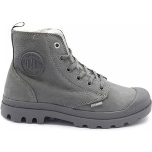 BOTTINE Boot Palladium Pampa Hi Zip WL Gris