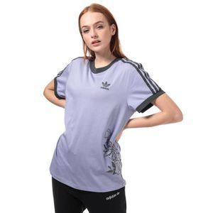 adidas Originals T Shirt Lilas Femme