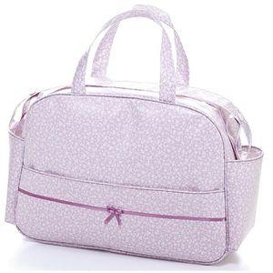 POUSSETTE  Sac à langer bébé en polyester coloris rose - L.45