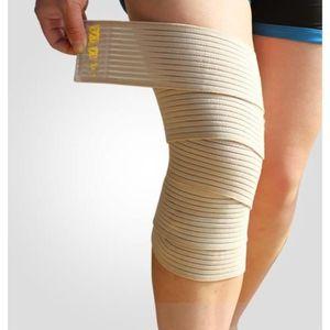 APPAREIL MASSAGE MANUEL 2 X Bande Bandage Manchon Genou Strapping élastiqu