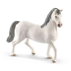 FIGURINE - PERSONNAGE SCHLEICH Horse Club 13887 - Figurine Etalon Lipizz
