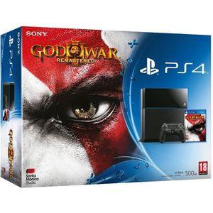 CONSOLE PS4 Console Playstation 4 Ps4 500 Gb Noire + Jeu God o