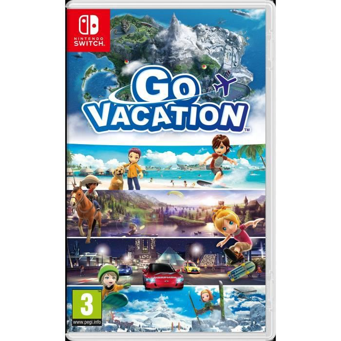 JEU NINTENDO SWITCH Go Vacation Jeu Nintendo Switch