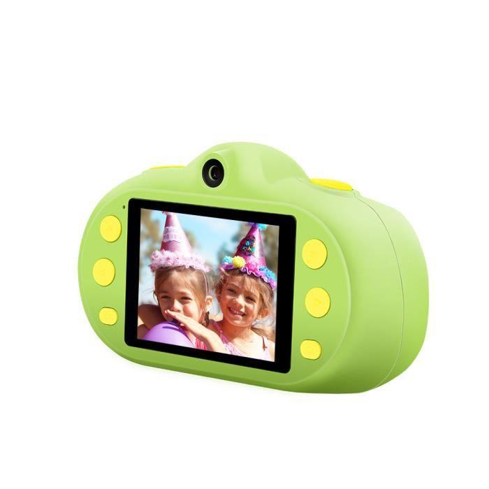 12MP 1080P HD Enfants Enfants Caméra Mini Appareil Photo Numérique 2,4 pouces Écran LCD Deux Objectifs avec Photo Vidéo MP3 Modes