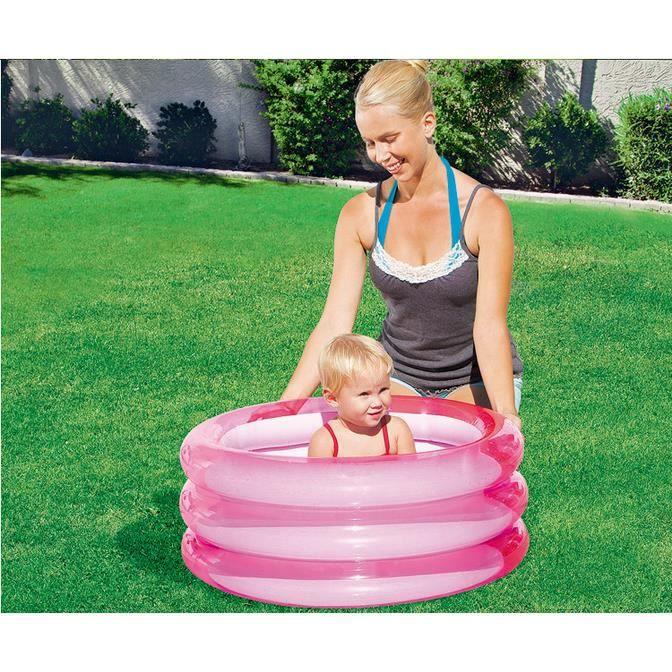 Piscine ronde gonflable enfant bébé Jouet à la maison baignoire gonflable bébé Piscine enfant petit 70*30cm