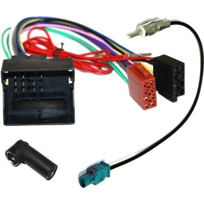 Câble adaptateur autoradio pour Citroen Peugeot
