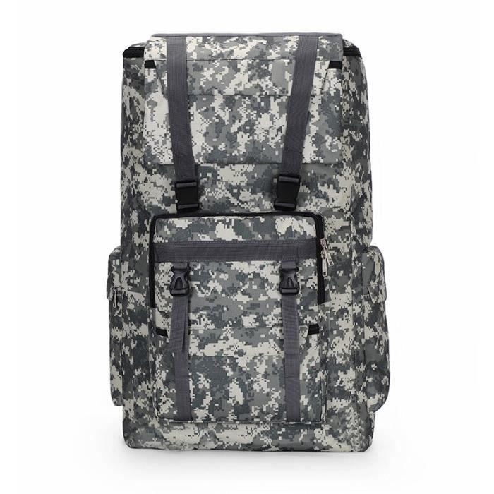 Grand sac à dos militaire 120l pour hommes, étanche, tactique, extérieur, assaut, bagages, Sport, Trekking, Camping, [102ECB8]