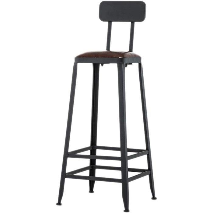 TABOURET DE BAR Gratuit Chaise de bar chaise haute en fer forg&eacute tabouret de bar arri&egravere en bois massif table et cha536
