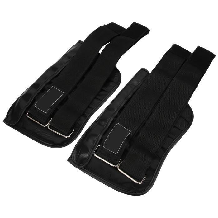 Poids du poignet de la cheville, poids d'entraînement de Legging 2 pièces 1 à 6 kg, conception trapézoïdale pour les exercices