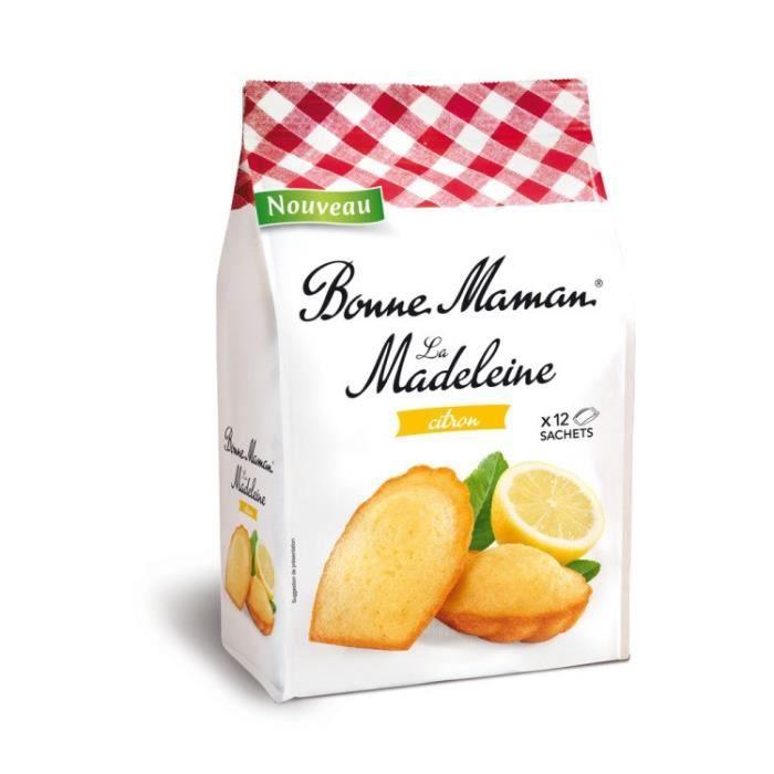 Madeleine citron 300g BONNE MAMAN