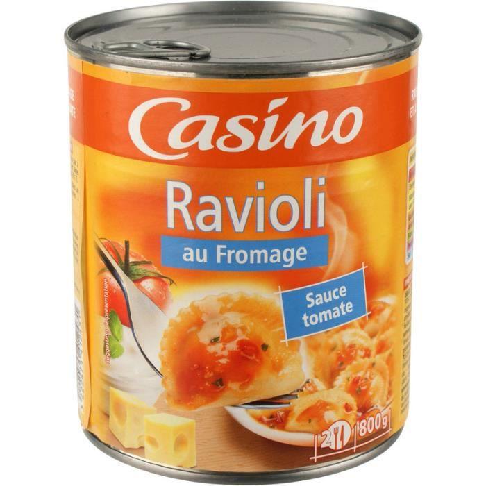 CASINO - RAVIOLI FROMAGE 800G