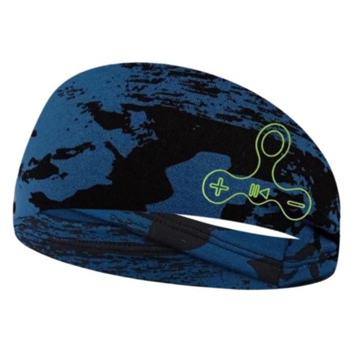 Casque Sans Fil Bluetooth Headband Sleep Casque Sport Music Écouteur Bleu